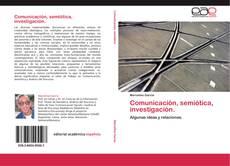 Couverture de Comunicación, semiótica, investigación.