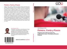 Bookcover of Palabra, Canto y Poesía