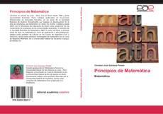 Capa do livro de Principios de Matemática