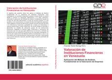 Portada del libro de Valoración de Instituciones Financieras en Venezuela