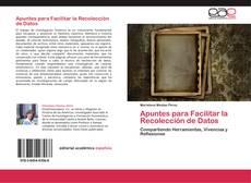 Portada del libro de Apuntes para Facilitar la Recolección de Datos