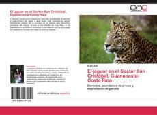 Bookcover of El jaguar en el Sector San Cristóbal, Guanacaste-Costa Rica