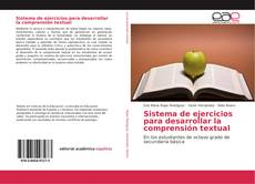 Обложка Sistema de ejercicios para desarrollar la comprensión textual