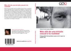 Buchcover von Más allá de una mirada casual a la realidad