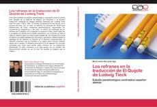 Обложка Los refranes en la traducción de El Quijote de Ludwig Tieck