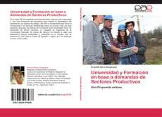 Capa do livro de Universidad y Formación en base a demandas de Sectores Productivos