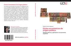 Portada del libro de Ciclos económicos de origen político