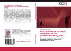 Portada del libro de Prestaciones en sistemas inalámbricos con diversidad SIMO y MIMO