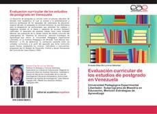 Borítókép a  Evaluación curricular de los estudios de postgrado en Venezuela - hoz