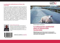 Portada del libro de La educación ambiental para el desarrollo sostenible