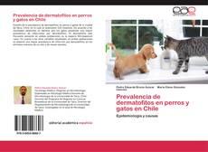 Portada del libro de Prevalencia de dermatofitos en perros y gatos en Chile