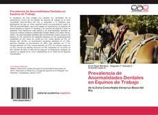 Prevalencia de Anormalidades Dentales en Equinos de Trabajo的封面