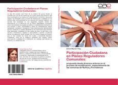 Portada del libro de Participación Ciudadana en Planes Reguladores Comunales: