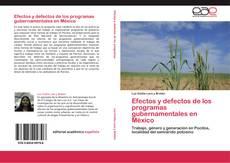 Couverture de Efectos y defectos de los programas gubernamentales en México