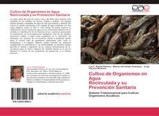 Capa do livro de Cultivo de Organismos en Agua   Recirculada y su Prevención Sanitaria