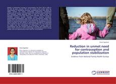 Обложка Reduction in unmet need for contraception and population stabilization