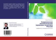 Bookcover of Современная экологическая правовая политика России