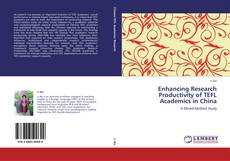 Couverture de Enhancing Research Productivity of TEFL Academics in China