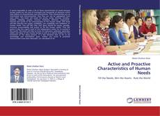 Bookcover of Active and Proactive Characteristics of Human Needs