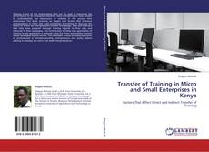 Обложка Transfer of Training in Micro and Small Enterprises in Kenya