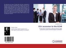 Bookcover of EU's accession to the ECHR