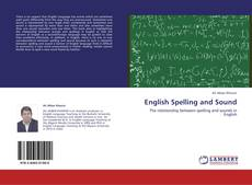 Bookcover of English Spelling and Sound