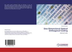 Couverture de One Dimensional Optical Orthogonal Coding