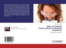Buchcover von Role of CCR5Δ32 Polymorphism in Kashmiri Population