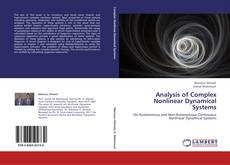 Bookcover of Analysis of Complex Nonlinear Dynamical Systems