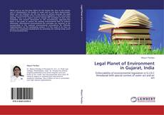 Bookcover of Legal Planet of Environment in Gujarat, India