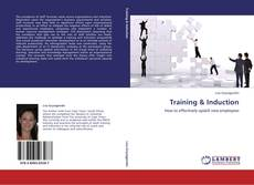 Bookcover of Training & Induction