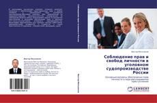 Bookcover of Соблюдение прав и свобод личности в уголовном судопроизводстве России