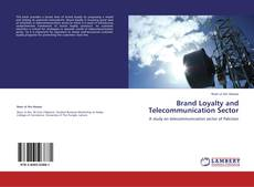 Capa do livro de Brand Loyalty and Telecommunication Sector