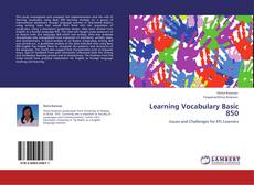 Bookcover of Learning Vocabulary Basic 850