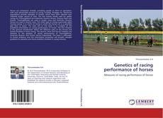 Copertina di Genetics of racing performance of horses