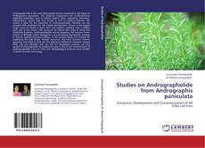 Buchcover von Studies on Andrographolide from Andrographis paniculata