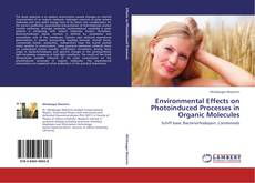Buchcover von Environmental Effects on Photoinduced Processes in Organic Molecules