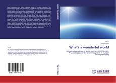 Bookcover of What's a wonderful world