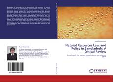 Natural Resources Law and Policy in Bangladesh: A Critical Review的封面