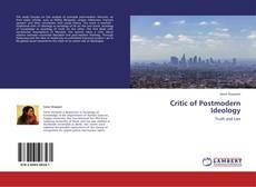 Buchcover von Critic of Postmodern Ideology