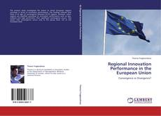 Regional Innovation Performance in the European Union kitap kapağı