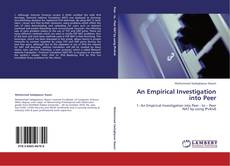 Bookcover of An Empirical Investigation into Peer