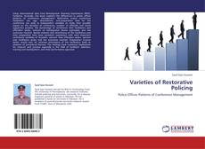 Varieties of Restorative Policing kitap kapağı
