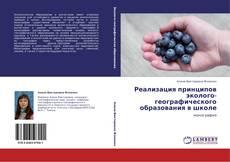 Copertina di Реализация принципов эколого-географического образования в школе