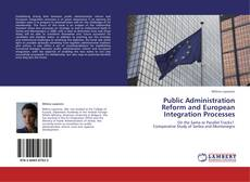 Bookcover of Public Administration Reform and European Integration Processes