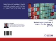 Copertina di International Business: a case of abusive transfer pricing