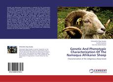 Bookcover of Genetic And Phenotypic Characterization Of The Namaqua Afrikaner Sheep