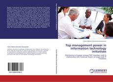 Couverture de Top management power in information technology initiatives