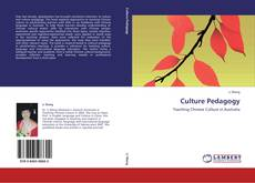 Bookcover of Culture Pedagogy