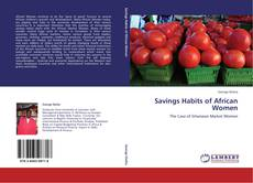 Capa do livro de Savings Habits of African Women